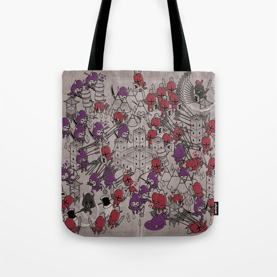The Great Battle of 1211 Tote Bag