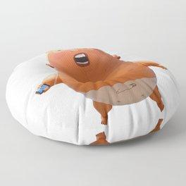 Trump baby balloon Floor Pillow