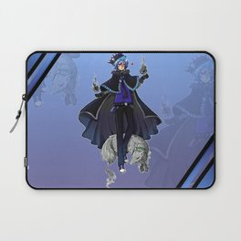 The King of Dead People Laptop Sleeve