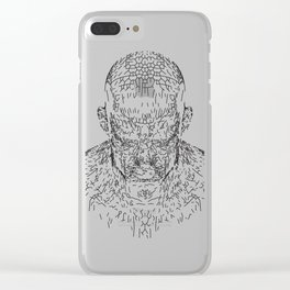 Wake Structure Clear iPhone Case