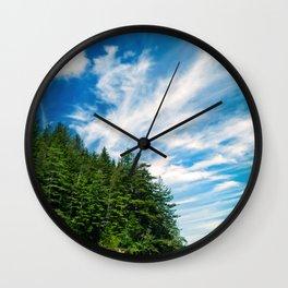 Long Island, Washington Sky Wall Clock