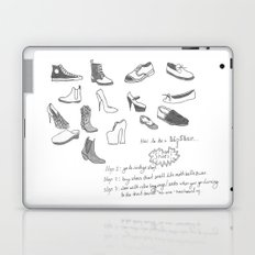 Hipsters Wear Shoes Laptop & iPad Skin