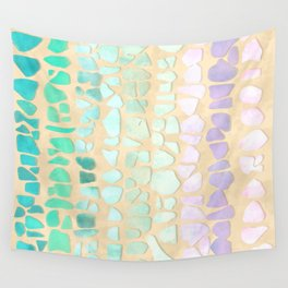 Sea Glass Wall Tapestry