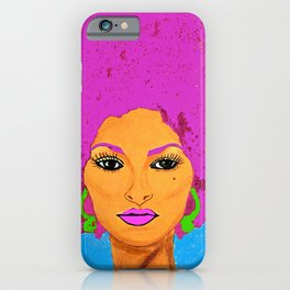 Pam Grier aka Jackie Brown c 1970's Diva iPhone Case