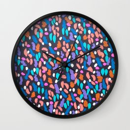 Space Dust Wall Clock