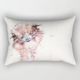 Who Me? (Emu) Rectangular Pillow