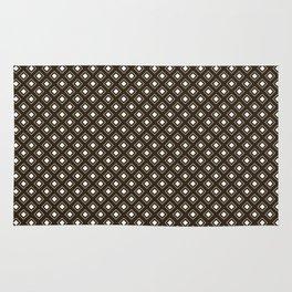 LunaSol organic pattern brown 001 Rug