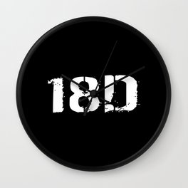 18D Special Forces Medical Wall Clock