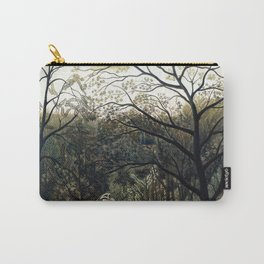 Henri Rousseau - Rendezvous in the Forest Carry-All Pouch