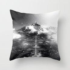 Himalaya I Throw Pillow