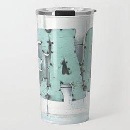 Rustic Beach Travel Mug