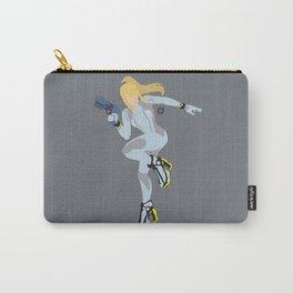 Zero Suit Samus(Smash)Silver Carry-All Pouch