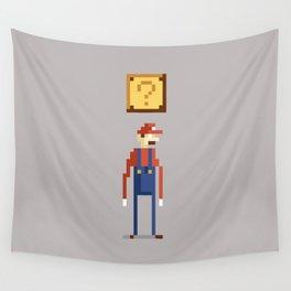 Pixel Plumber Wall Tapestry