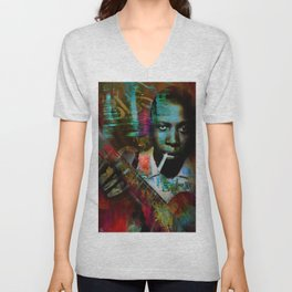 Robert johnson Unisex V-Neck