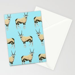 Desert Oryx Stationery Cards