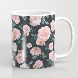 Light Pink Roses Flower pattern Coffee Mug