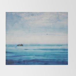The fishermen Throw Blanket