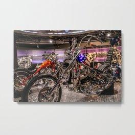 choppers Metal Print