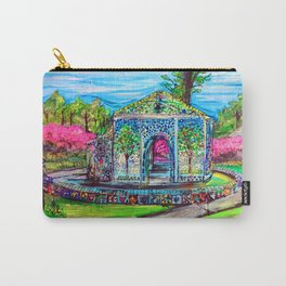 Airlie Gardens Bottle chapel painting Carry-All Pouch