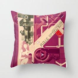 Phallic Attachment Throw Pillow