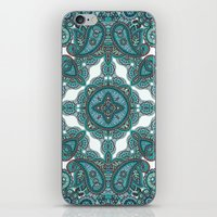paisley iPhone & iPod Skins featuring paisley by gtrappdesign