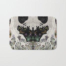 Starry Forest Bath Mat