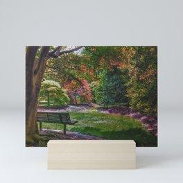 The Park Bench Mini Art Print