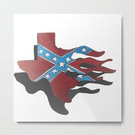 rebel texas Metal Print