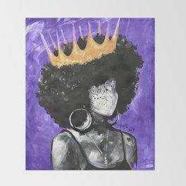 Naturally Queen II PURPLE Throw Blanket