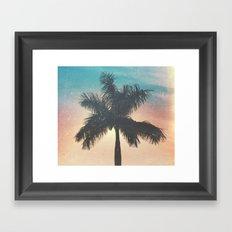 Le Palm Framed Art Print
