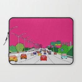 Highway to Miami Laptop Sleeve