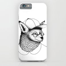 Hipster Fox Slim Case iPhone 6s