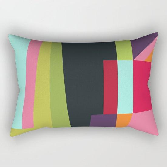 Geometric#28 Rectangular Pillow