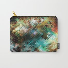 Robot flower Carry-All Pouch