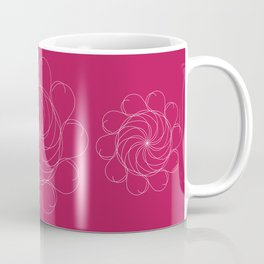 Ornament – Turning Flower Coffee Mug