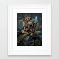 goonies Framed Art Prints featuring The Goonies by flylanddesigns