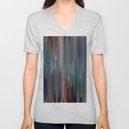 Dripping Lines Unisex V-Neck