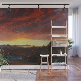 Twilight, A Sketch Landscape by Frederic Edwin Church Wall Mural