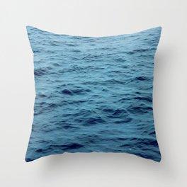 OCEAN - SEA - WATER - WAVES Throw Pillow