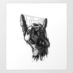 Zombie Horns - No Pick Art Print