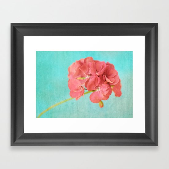 Sweet and Simple Framed Art Print