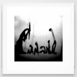 shadow Jazz Framed Art Print