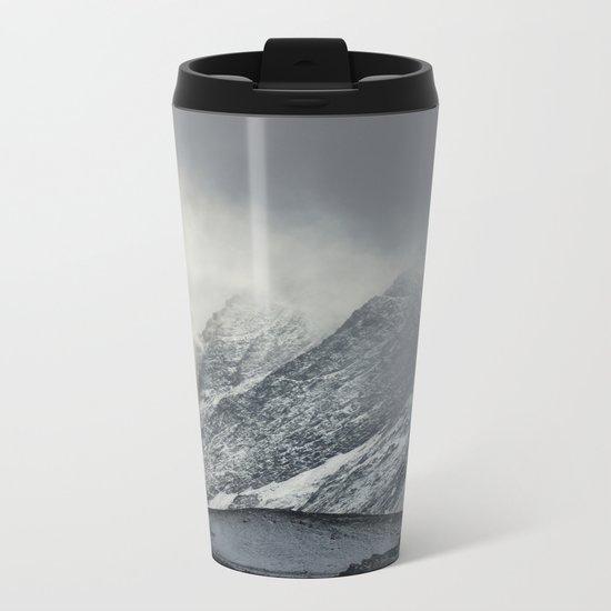 """The Mountain"" Metal Travel Mug"