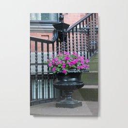 Sidewalks of Boston, 1 Metal Print