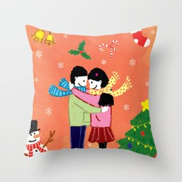 All I Want for Christmas Throw Pillow