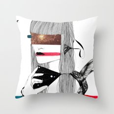 The Capture Throw Pillow