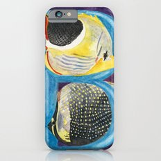 B for Butterfly Fish iPhone 6s Slim Case