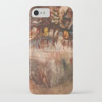 middle earth iPhone & iPod Cases featuring Middle of the Earth by Loredana