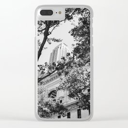 New York Library Clear iPhone Case