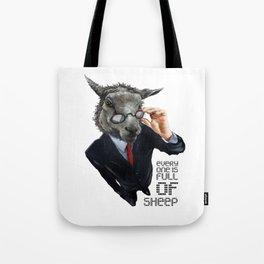 Full Of Sheep Tote Bag